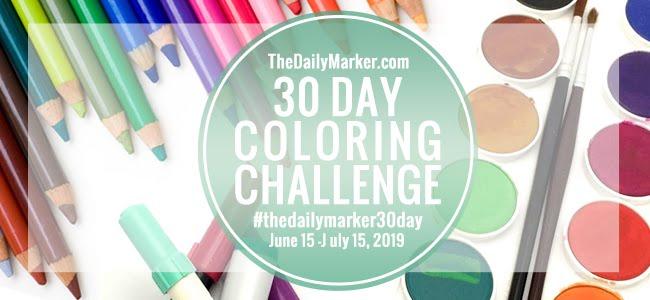 30 dias a Colorir - 15 Junho / 15 Julho 2019