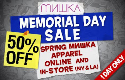 Mishka | Clothing | Streetwear | New York City | NYC | Memorial Day | Sale