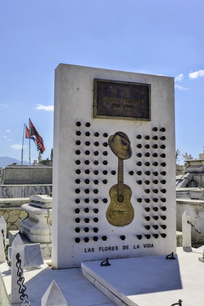 Santiago de Cuba headstone of Compay Segundo