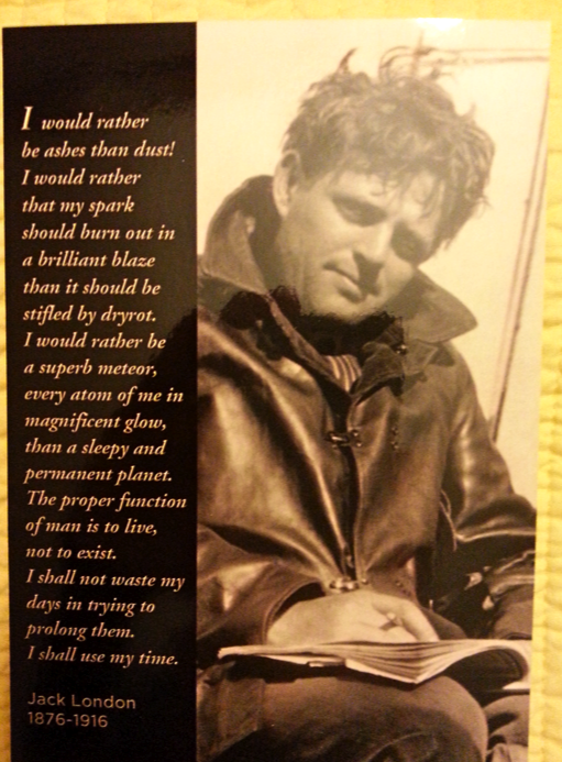 the idea of naturalism in the novel to build a fire by jack london