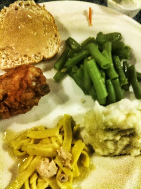 Dinner at Blue Gate Restaurant