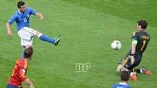 Spanyol-Vs-Italia 1-1 Grup-C-EURO-2012