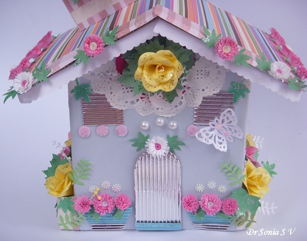 Cards Crafts Kids Projects House Shaped Box With Punchcraft And - Type of house for kids