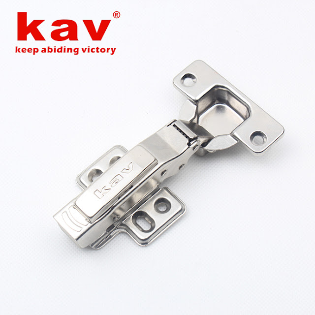 kav luxury 2d clip on soft close door hinges with plastic pipes