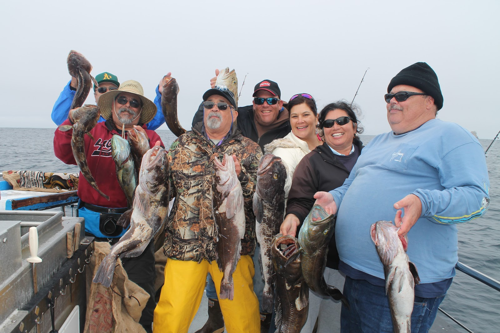 Dan 39 s journal fishing report from our trip to emeryville for Emeryville fishing report