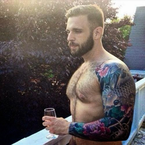 Gay Bear Tattoo Sleeve