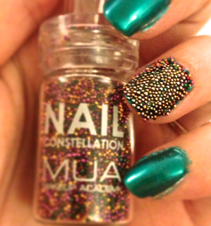 A picture of MUA constellations in the bottle