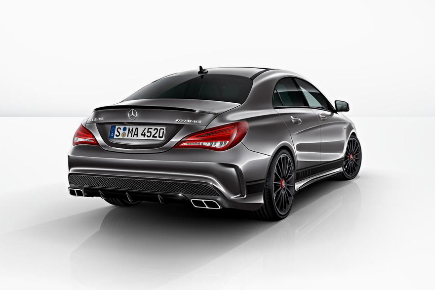 mercedes benz cla 45 amg edition 1 way2speed. Black Bedroom Furniture Sets. Home Design Ideas