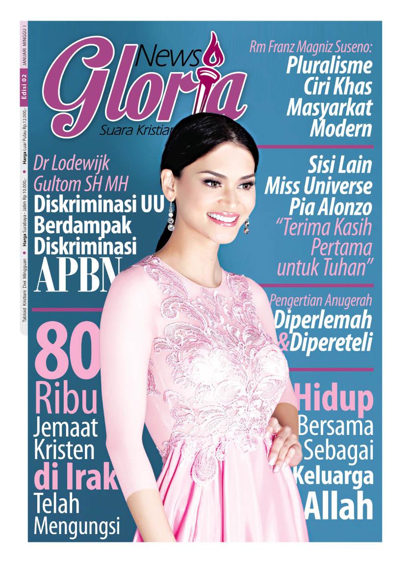 Cover Gloria News Terbaru