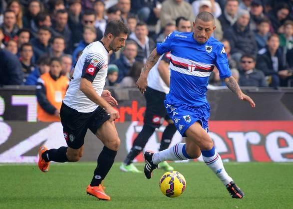 Cesena Sampdoria 1-1 risultato di Serie A