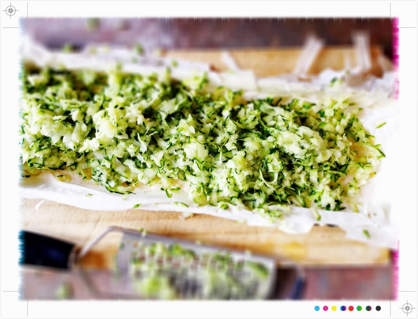 Toast: Zucchini & Feta Tart