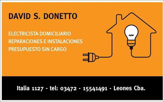 ESPACIO PUBLICITARIO: DAVID S. DONETTO