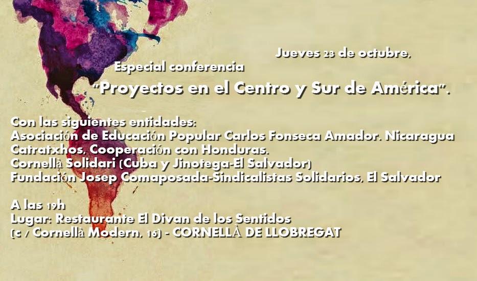 Xarxa x nicaragua especial conferencia en cornell de for Correos cornella de llobregat