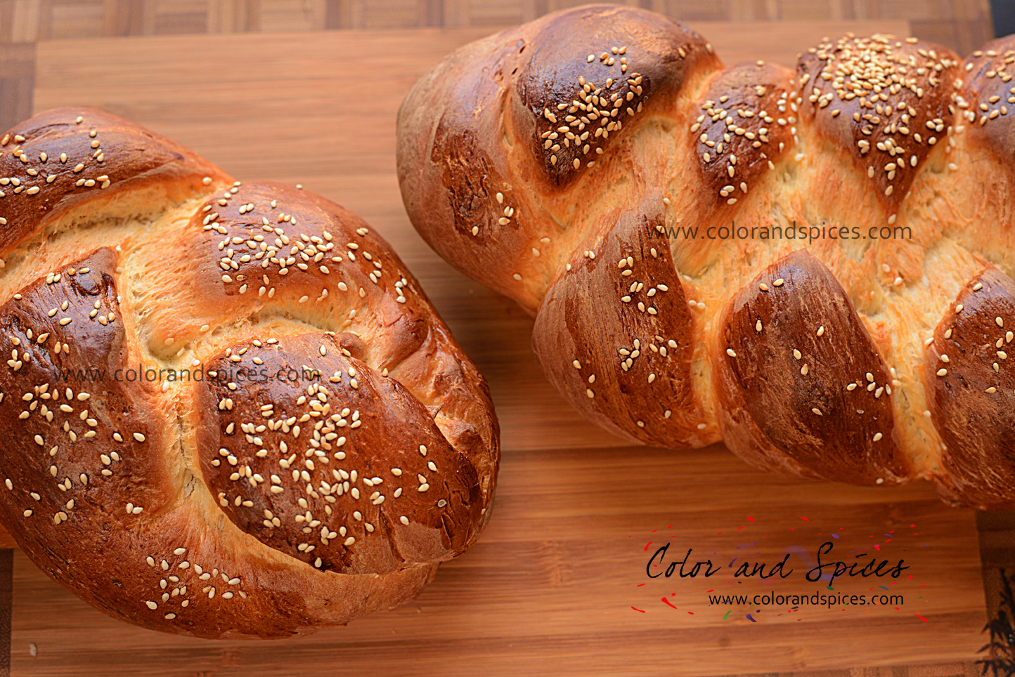 Braided bread..
