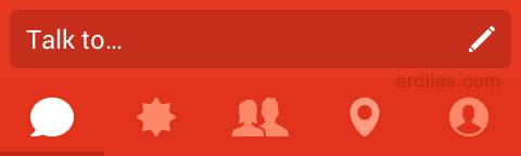 Talk to - Cara Bermain dan Menggunakan Aplikasi Path Talk - Android