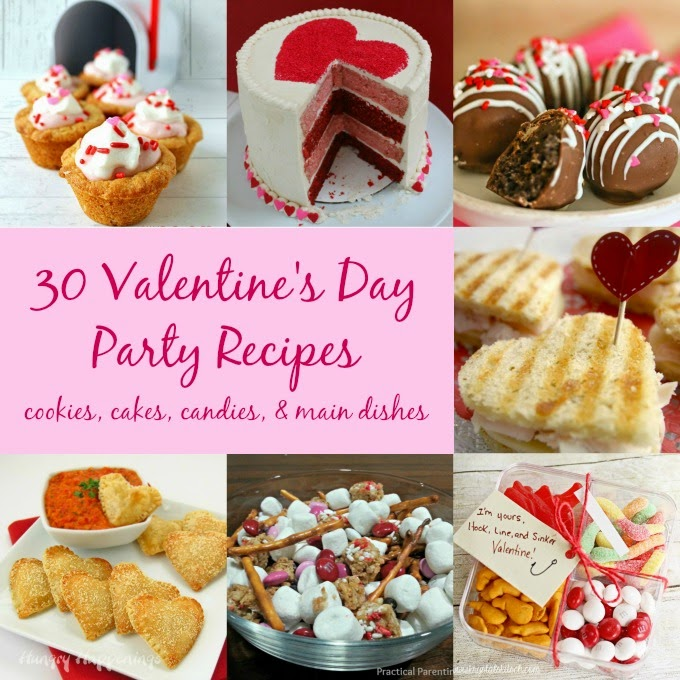 Practical parenting ideas 30 valentine 39 s day recipes for Kid friendly valentine recipes