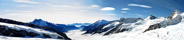 swiss alps panorama