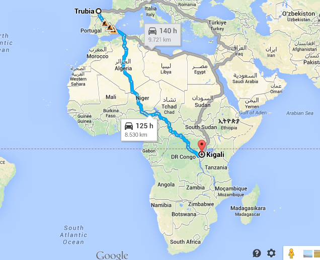 Viajeros rumbo a kigali for Marmol donde se encuentra