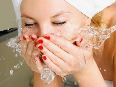 tips awet muda dengan cuci muka