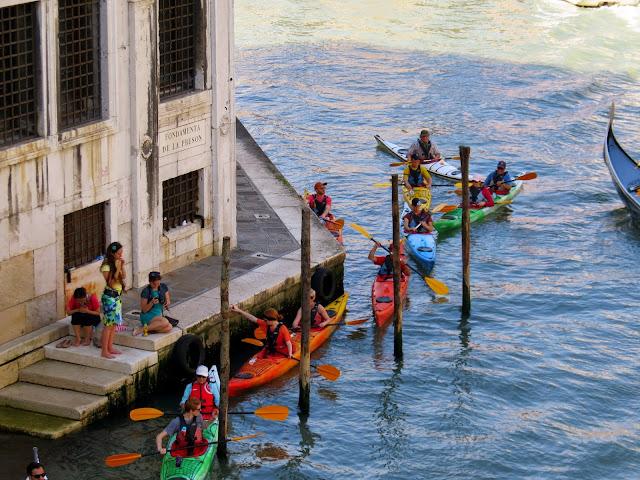 Venice kayaking
