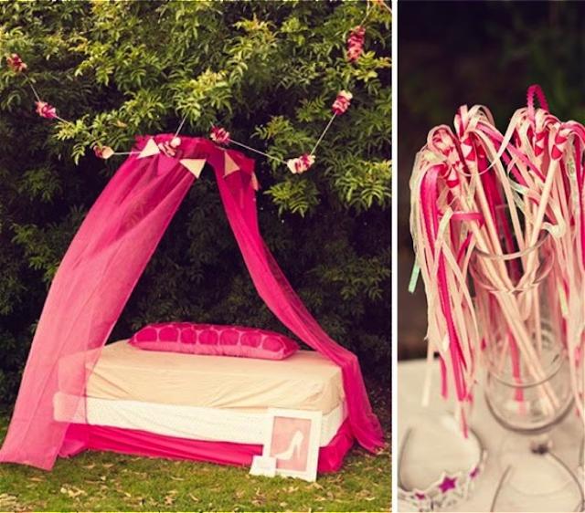 Ideas para una fiesta de princesas
