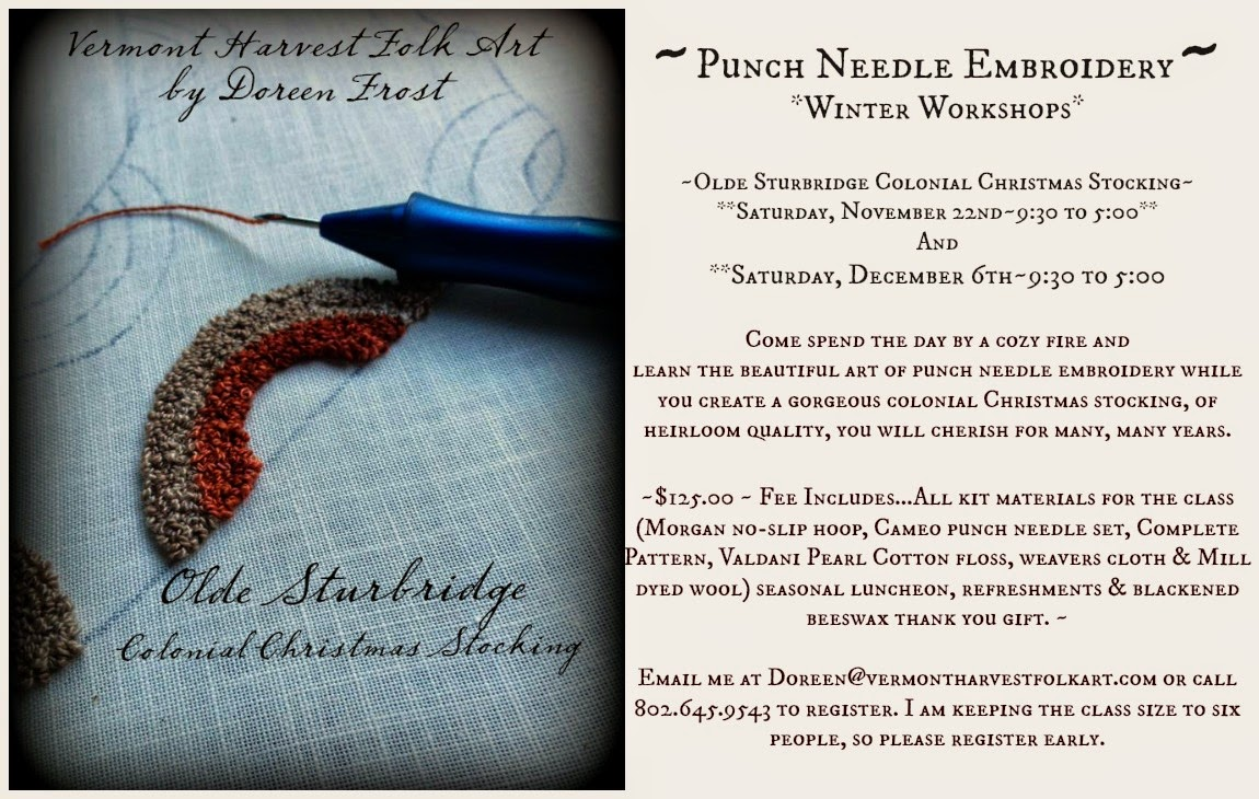 ~Punch Needle Workshops~
