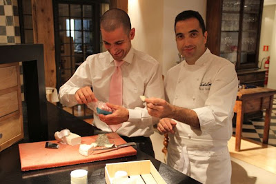 Santceloni, queso artesano LÉsprit Granja Cantagrullas. Blog Esteban Capdevila