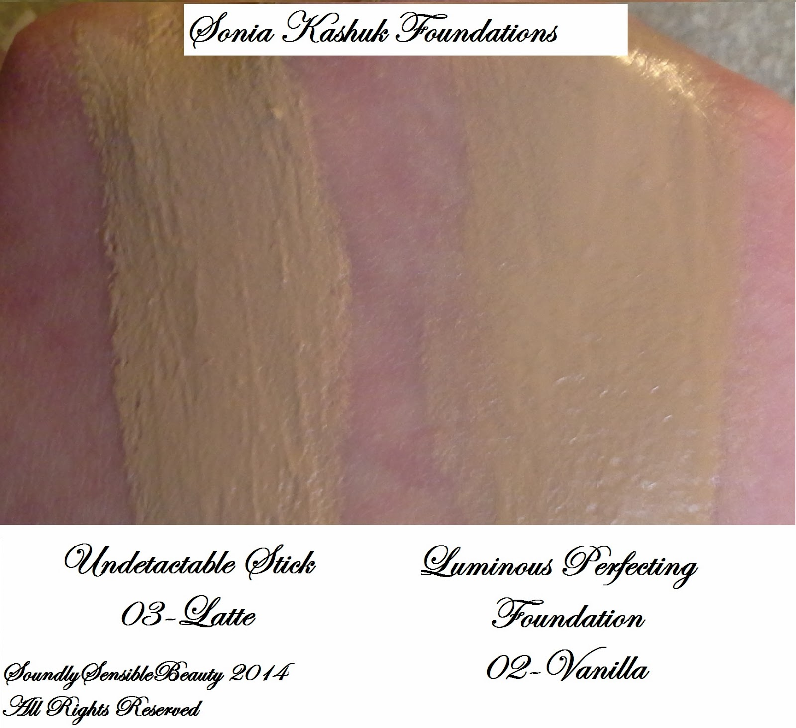 Sonia Kashuk Luminous Perfecting Foundation