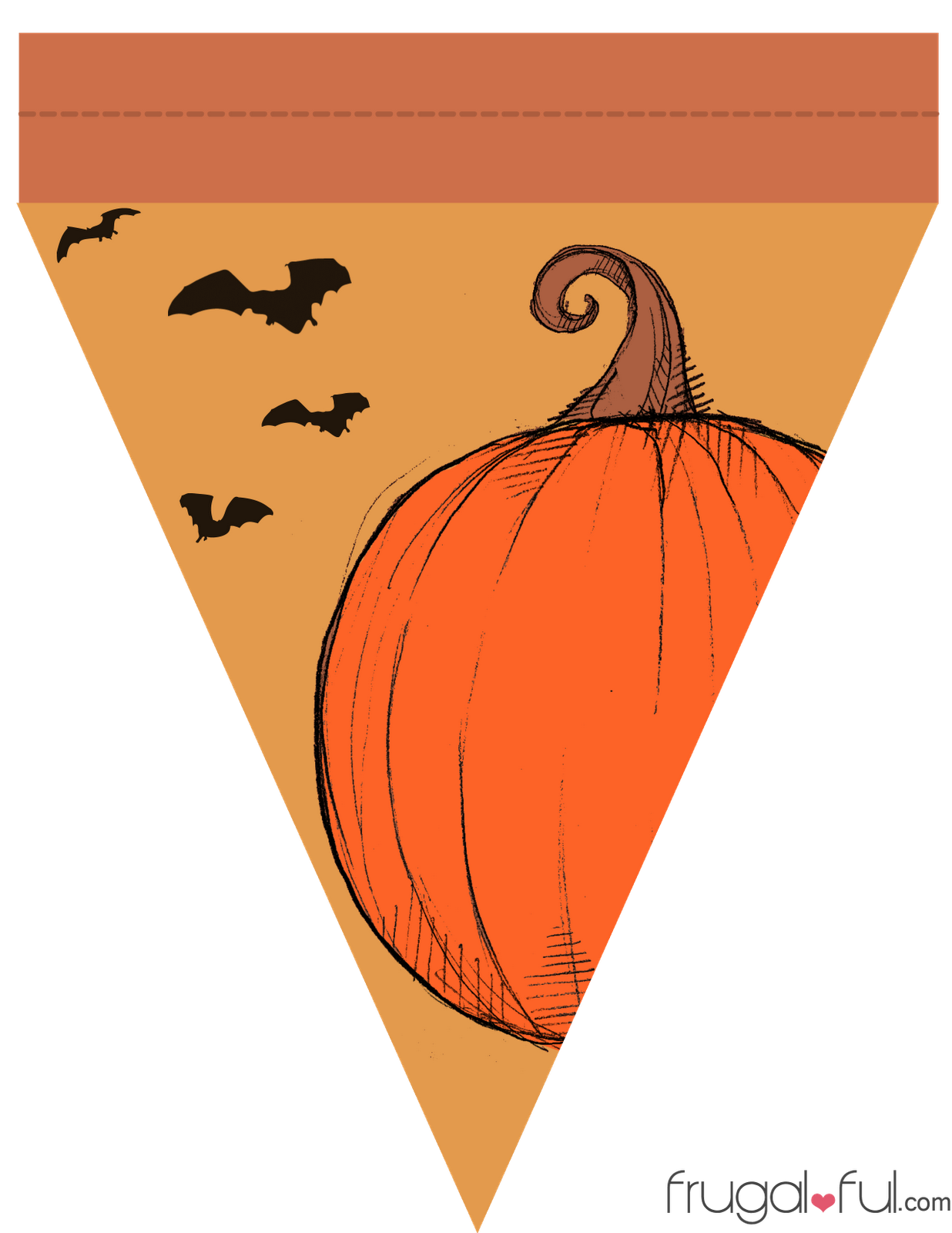 It's just a photo of Peaceful Printable Halloween Banner