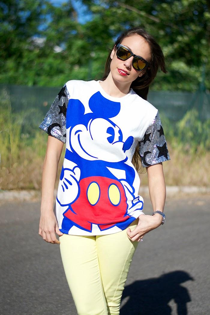 maglietta topolino