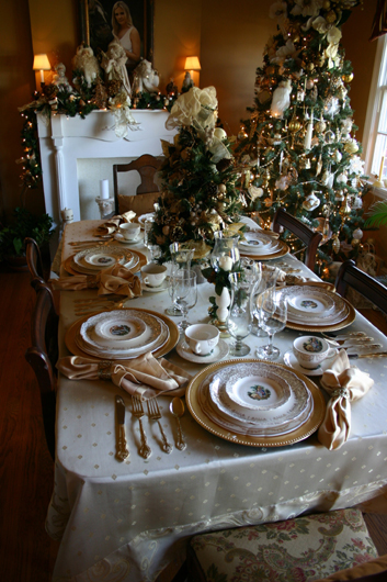 The Elegant Chateau Elegant White Christmas