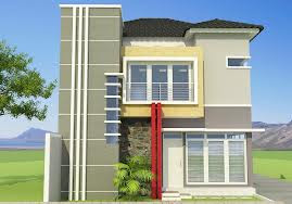 Desain Rumah Dua Lantai