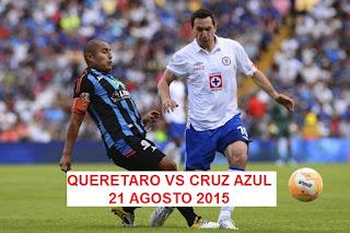 Querétaro vs Cruz Azul En vivo, 21 de Agosto 2015 Transmite Univision Por liga MX