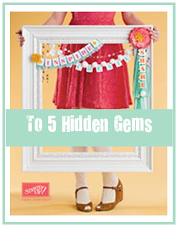 Top 5 Hidden Gems in the new Stampin' Up! Catalogue - check them out and purchase them here