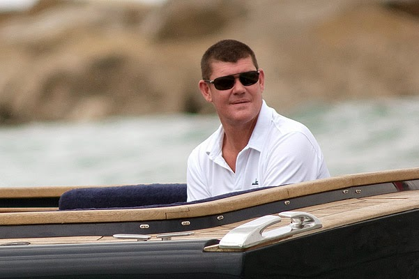 James Packer in anticipation of Miranda Kerr