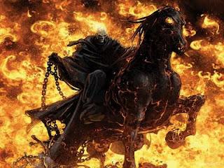Wallpaper Keren Kuda Api
