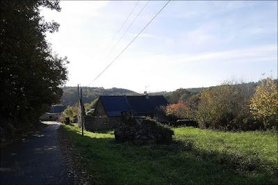 vieux bourg saint just ille et Vilaine octobre 20015