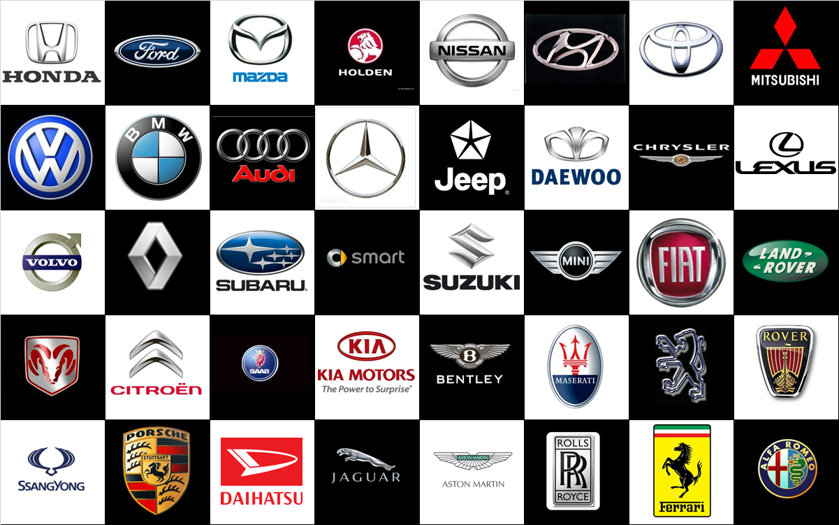 Car Brands That Start With D >> Car Logos