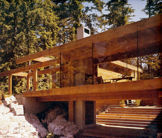 Aujourd 180 Hui Val 233 Ry Smith House By Arthur Erickson