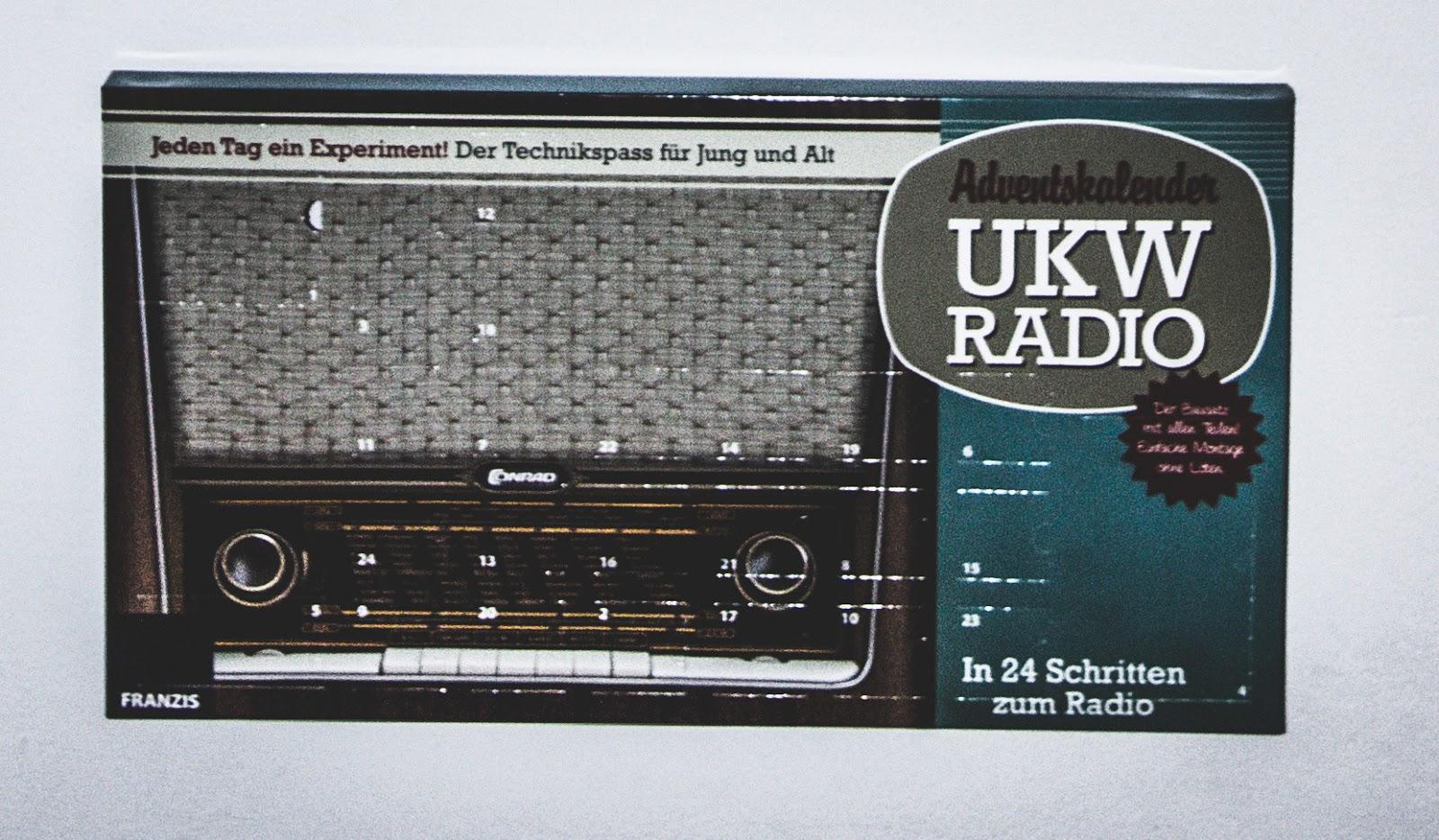 Adventskalender Radio zum Selberbasteln