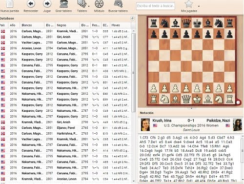 DATABASE CHESSBASE ON LINE
