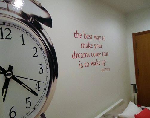 Make Your Dreams Come True Wake Up