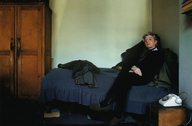 Quentin Crisp, The Naked Civil Servant, Edward Barber photographer, Fontana 1977