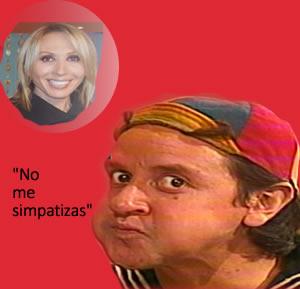 Laura Bozzo le responde a Carlos Villagran