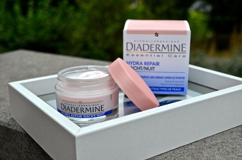 diadermine hydra repair nachtcreme review
