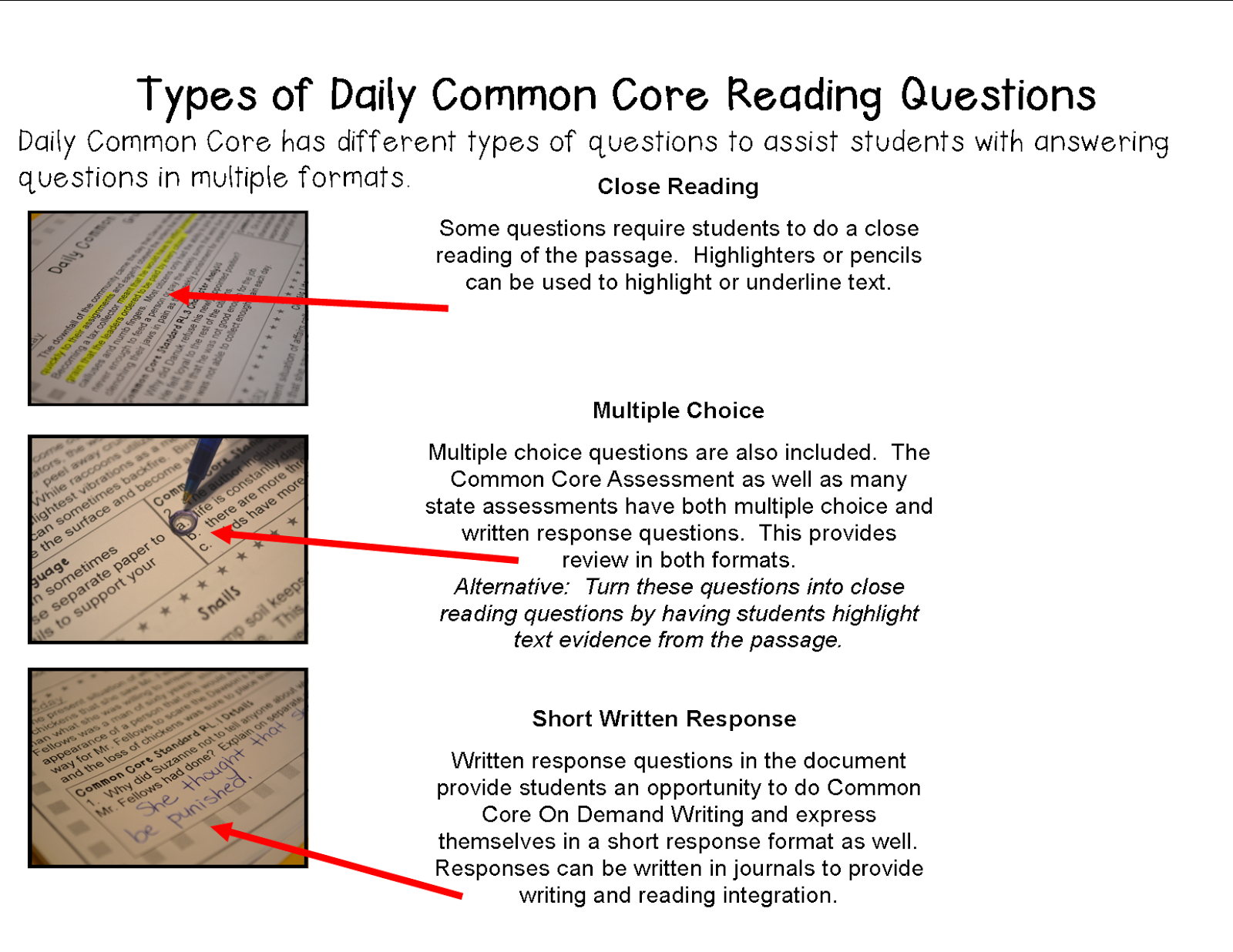 worksheet Common Core Reading Comprehension Worksheets 4th Grade literacy math ideas free close reading passage of the week click a grade level link for daily common core practice quick passages in 5 minutes day