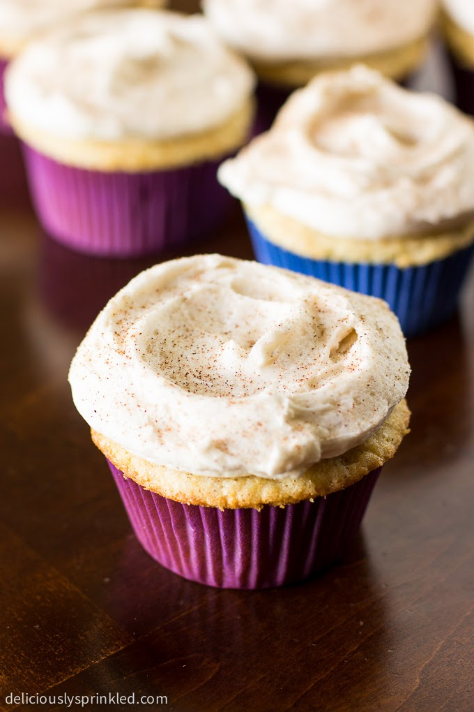 Snickerdoodle Cupcakes | Girls Dishes