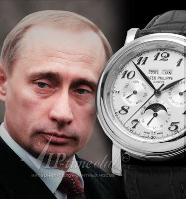 Кто и почему из политиков и звезд шоу-бизнеса носит часы