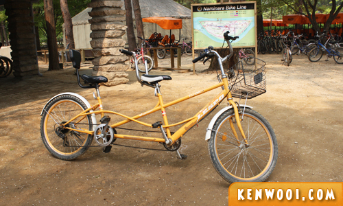 nami island bicycle