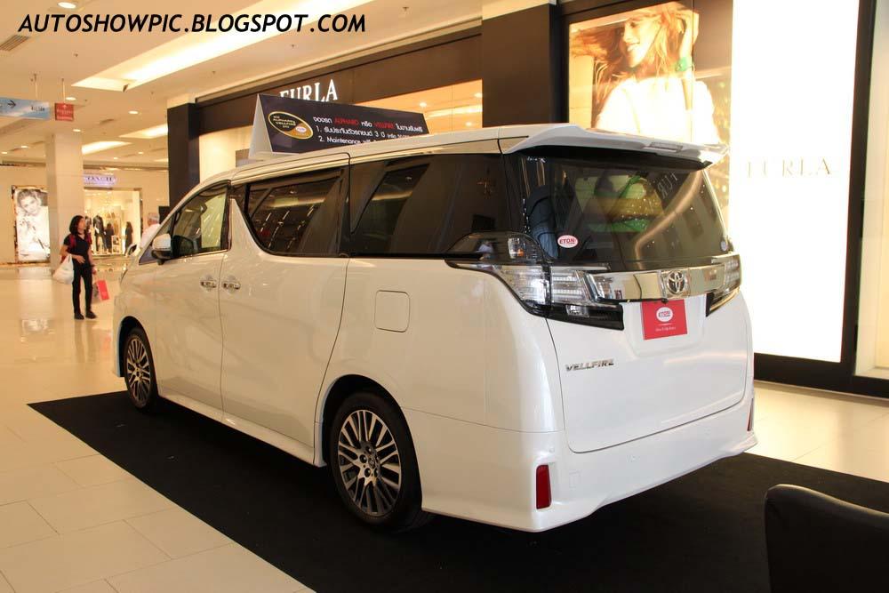 Toyota Vellfire 2015